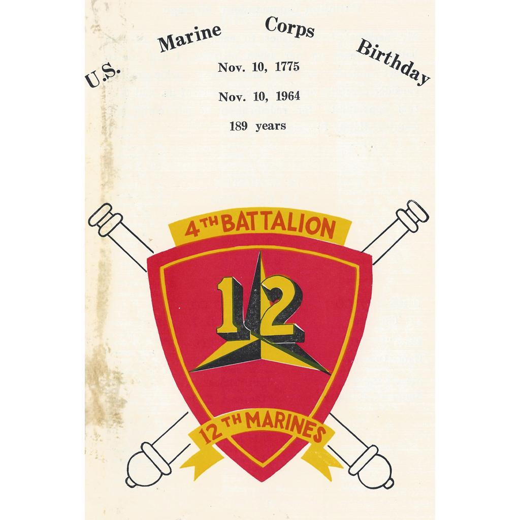 189th Marine Corps Birthday