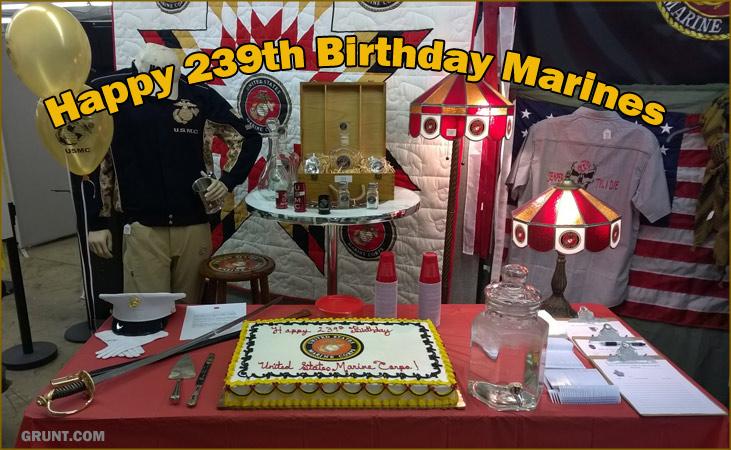 Happy 239th Birthday Marines