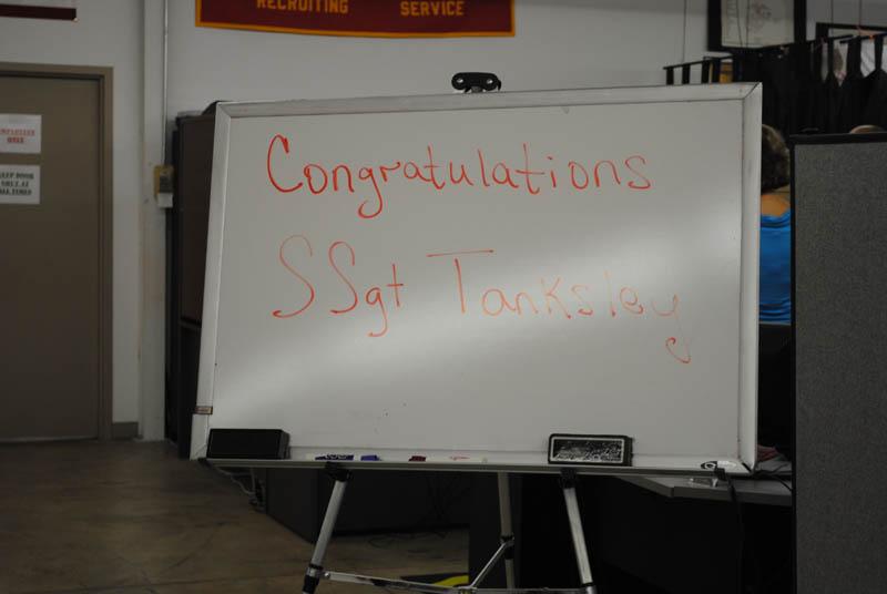SSgt Codi Tanksley's Promotion Ceremony