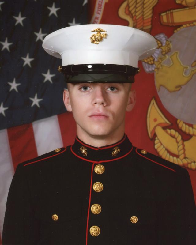 Marine Graduation 1-29-10
