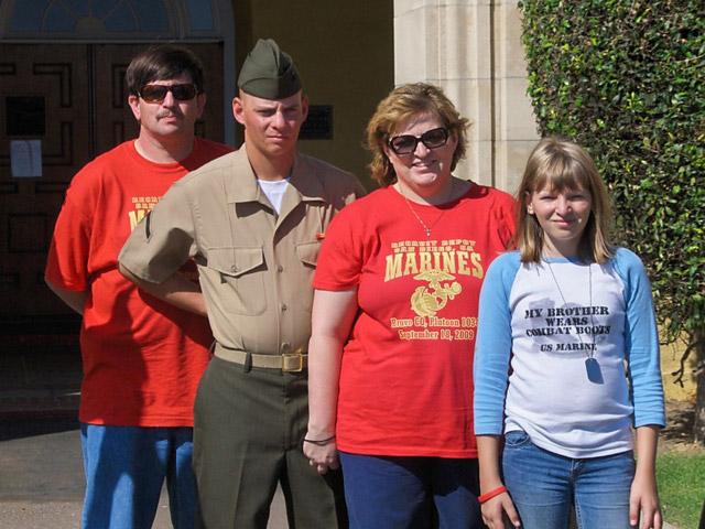 New Proud Marine Mom