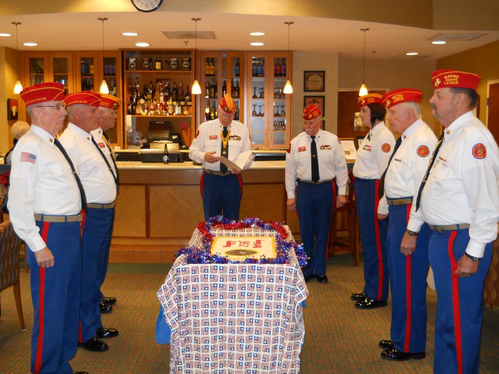 Oldest Marine At 105