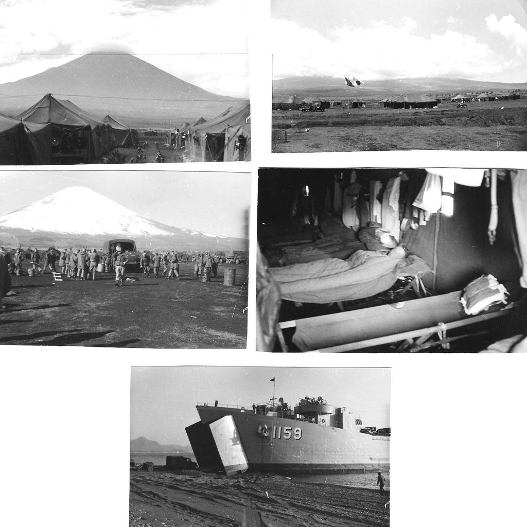 Camp Fuji, 1960