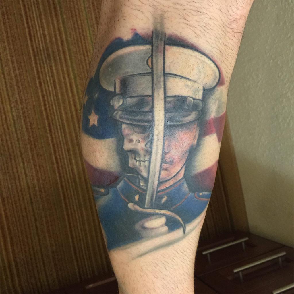 Once A Marine, Always A Marine Tattoo