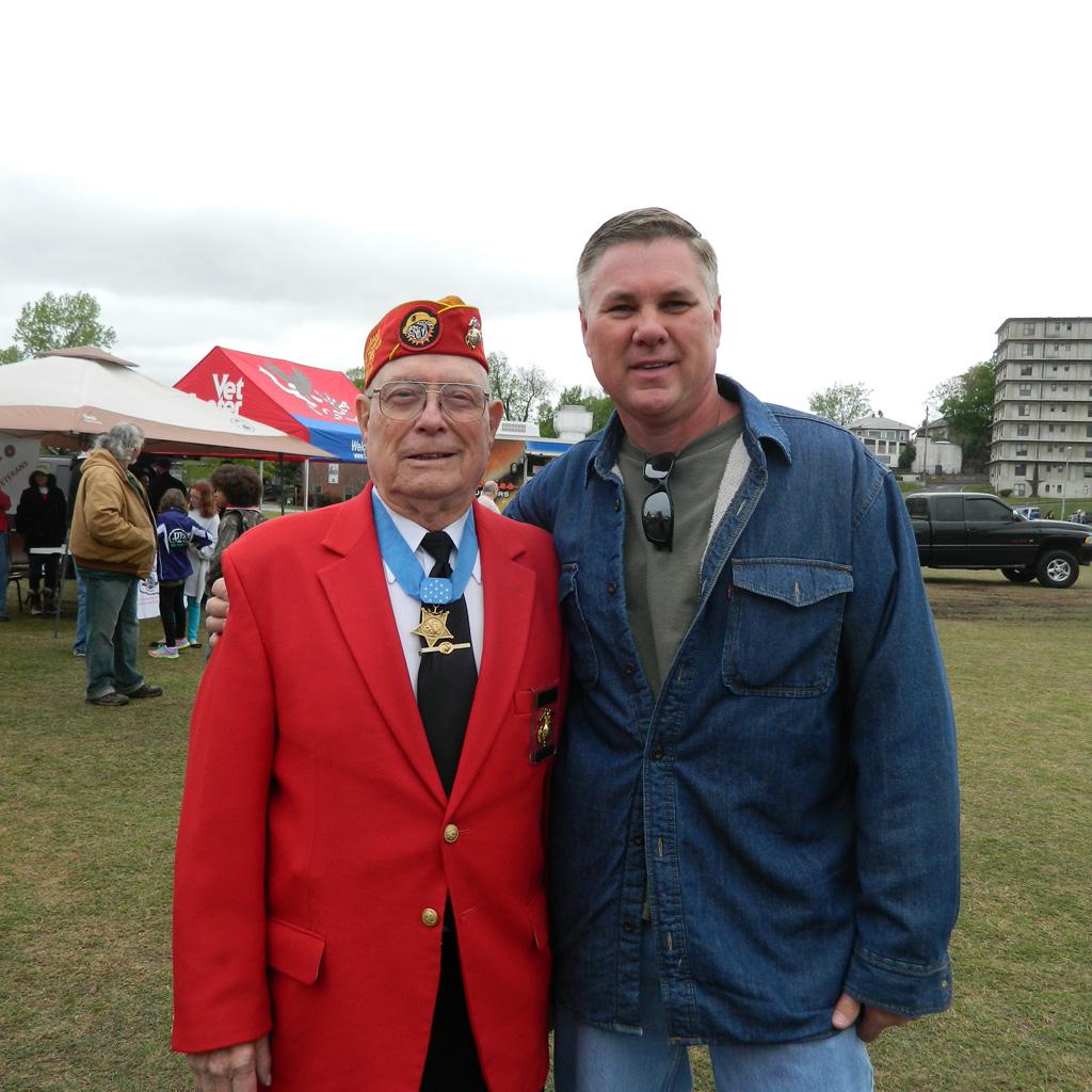 Iwo Jima Medal of Honor Recipient