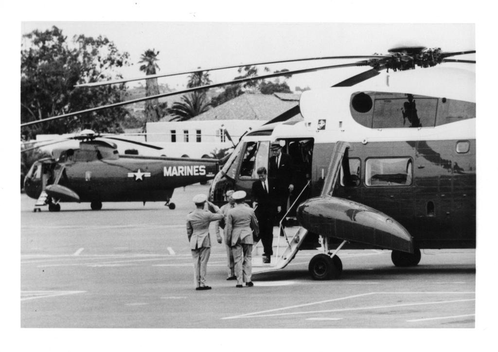 1963 JFK Visit To MCRD San Diego