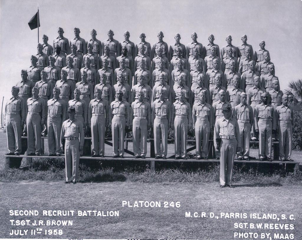 Plt 246 PISC, 1958