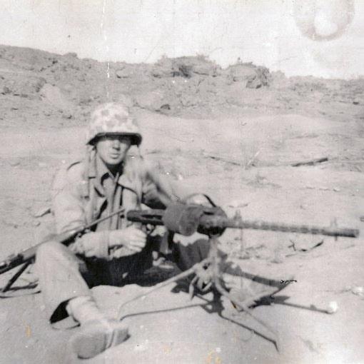 62nd Seabee Norman Baker on Iwo Jima