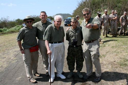 Sgt Grit Polo shirts on Iwo Jima
