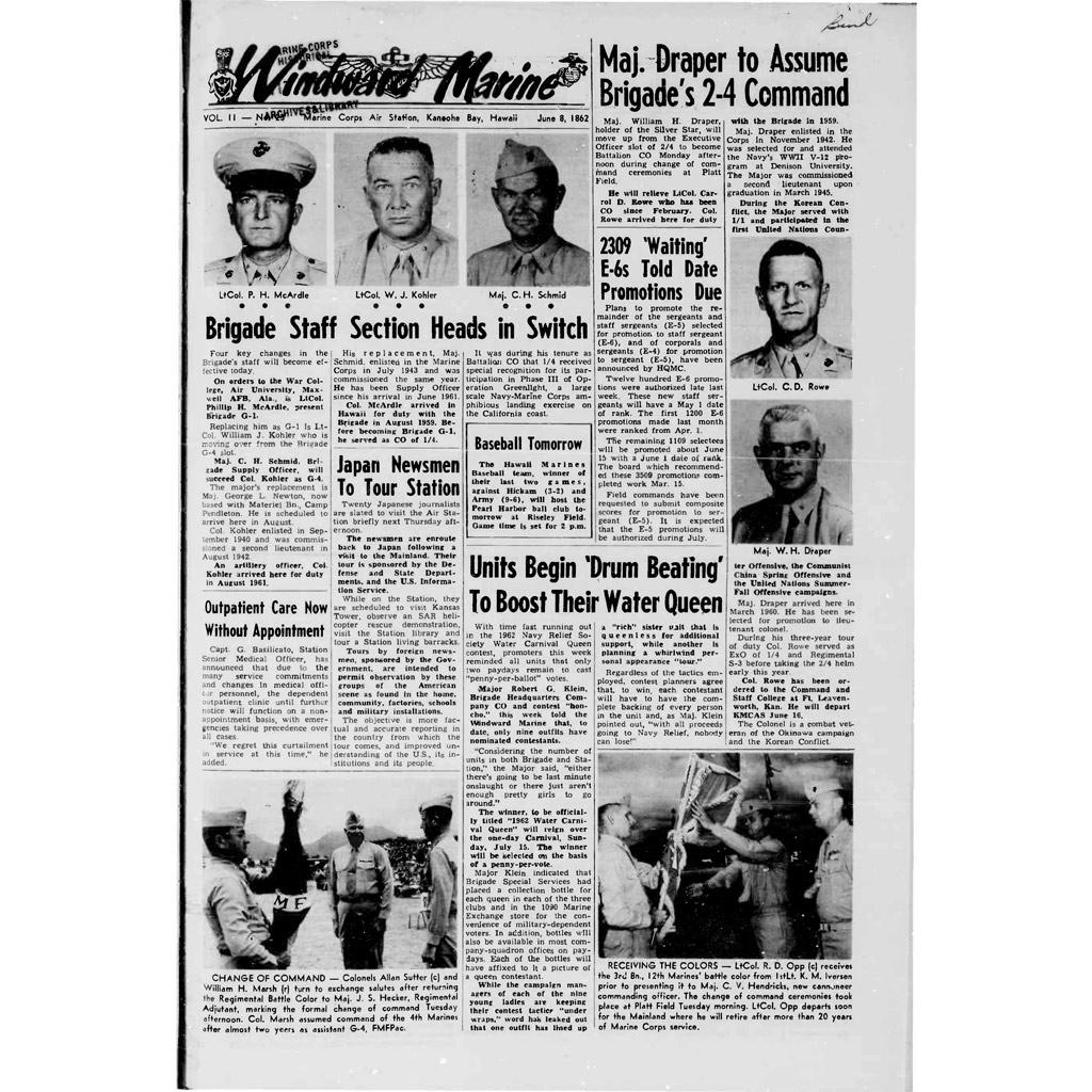 Windward Marine 08 June 1962