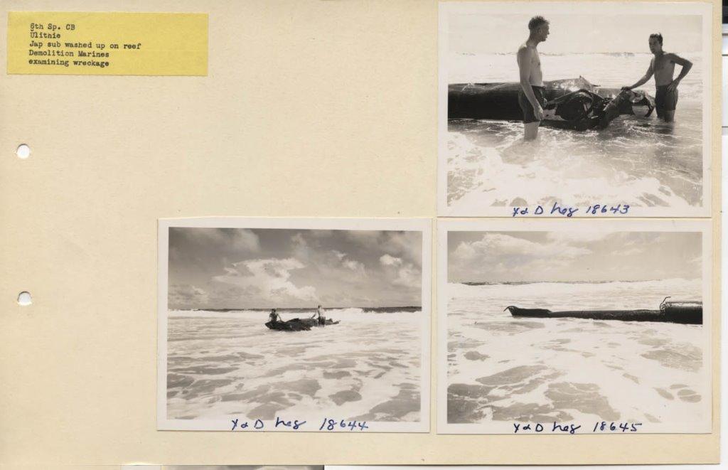 Ulithi, Atoll Demo Marines