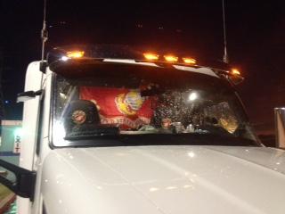 USMC Pride On Truck