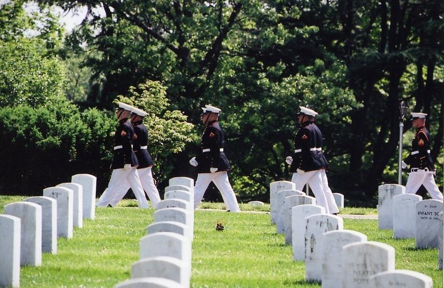 Arlington National Cemetery Marines 1