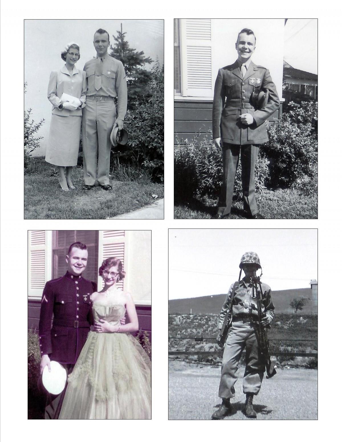 USMC 1955 Uniforms