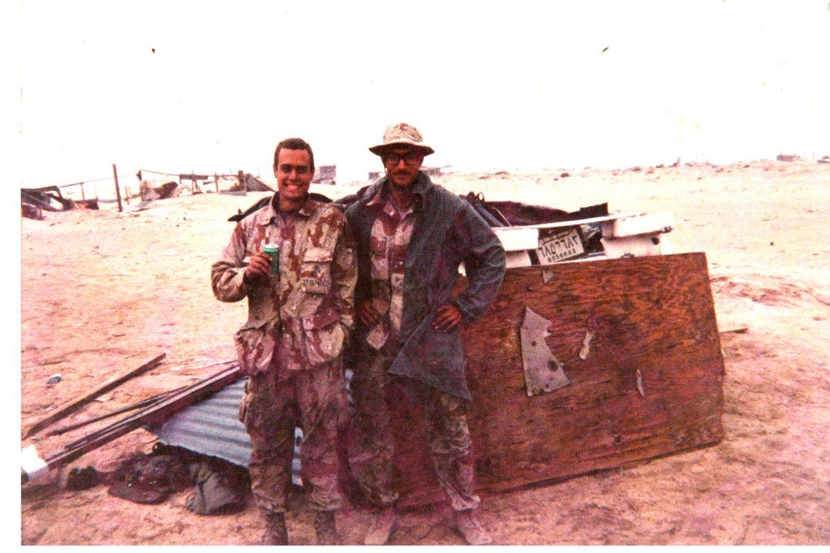 Desert Storm action